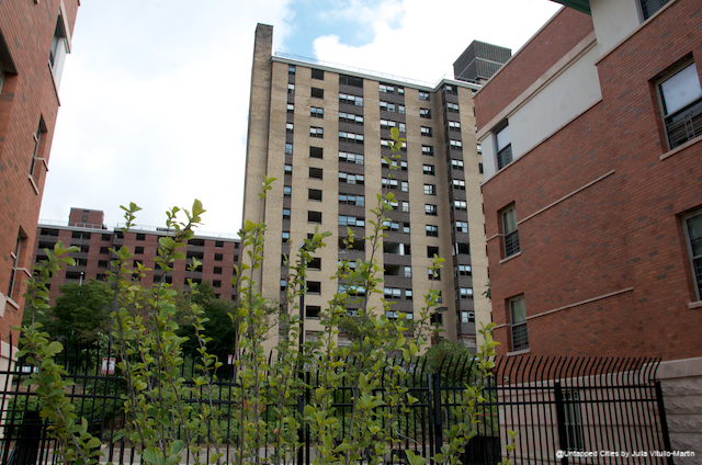 "NYCHA has chosen top companies""""Blue Sea Development Company, Pennrose Properties, Duvernay + Brooks, and Rosenberg Housing Group""""to redevelop the huge, empty Prospect Plaza project, just a few blocks north of Pitkin, as a mixed-use development."