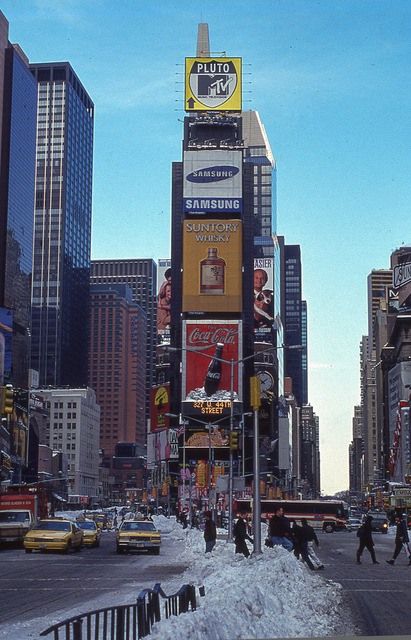 Times Square MTV NYC 1990s Gregoire Alessandrini Untapped Cities