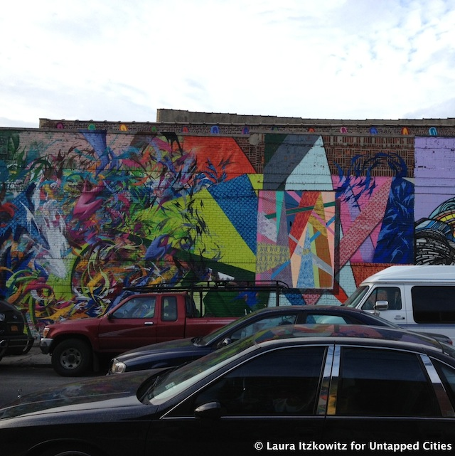 murals on Troutman Street Bushwick Brooklyn NYC Untapped Cities