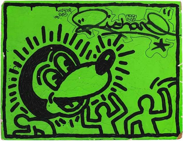City as Canvas-Museum of City of NY-Keith Haring
