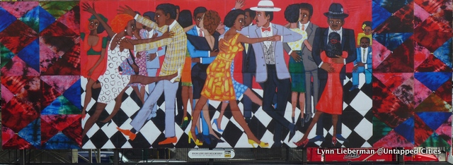 Faith Ringgold's commissioned piece, 'Groovin High', for the High Line