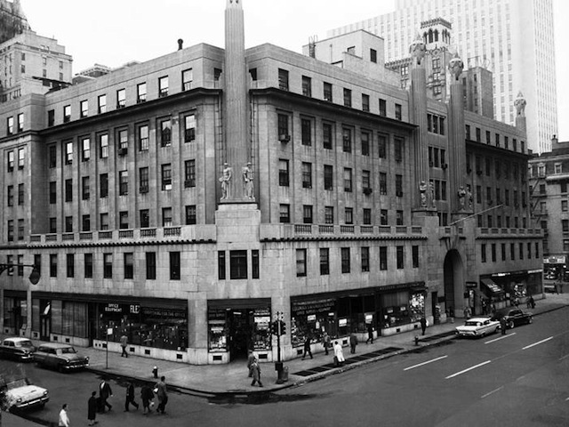 Hearst Building vintage photo NYC Untapped Cities