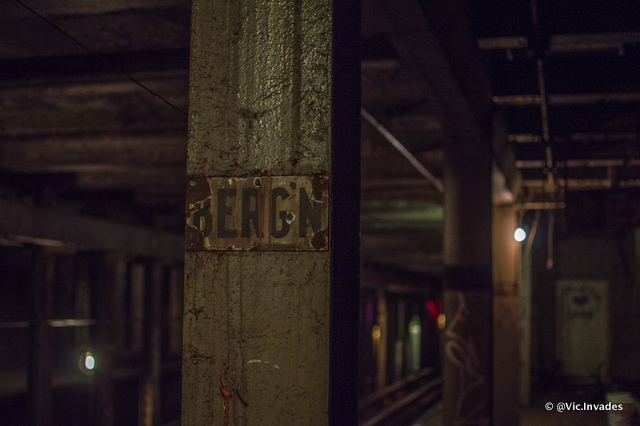 Abandoned Bergen Street Lower Level-Subway Station-Brooklyn-NYC-002